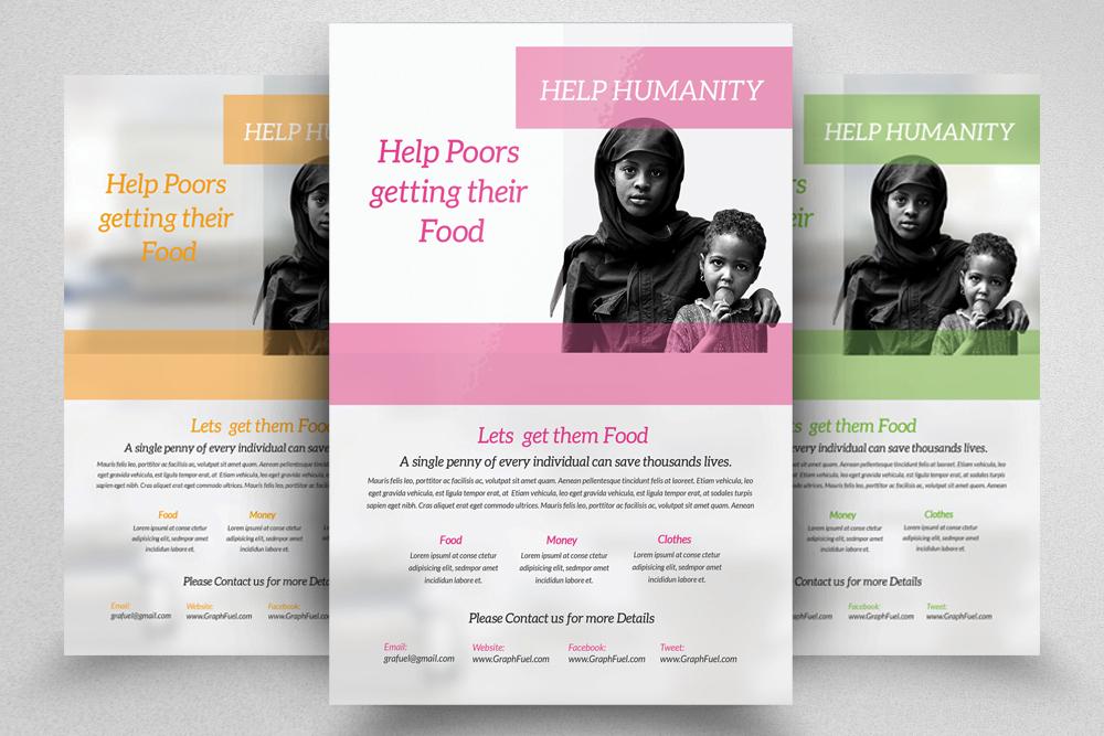 6 Charity & Donation Flyers Bundle example image 7