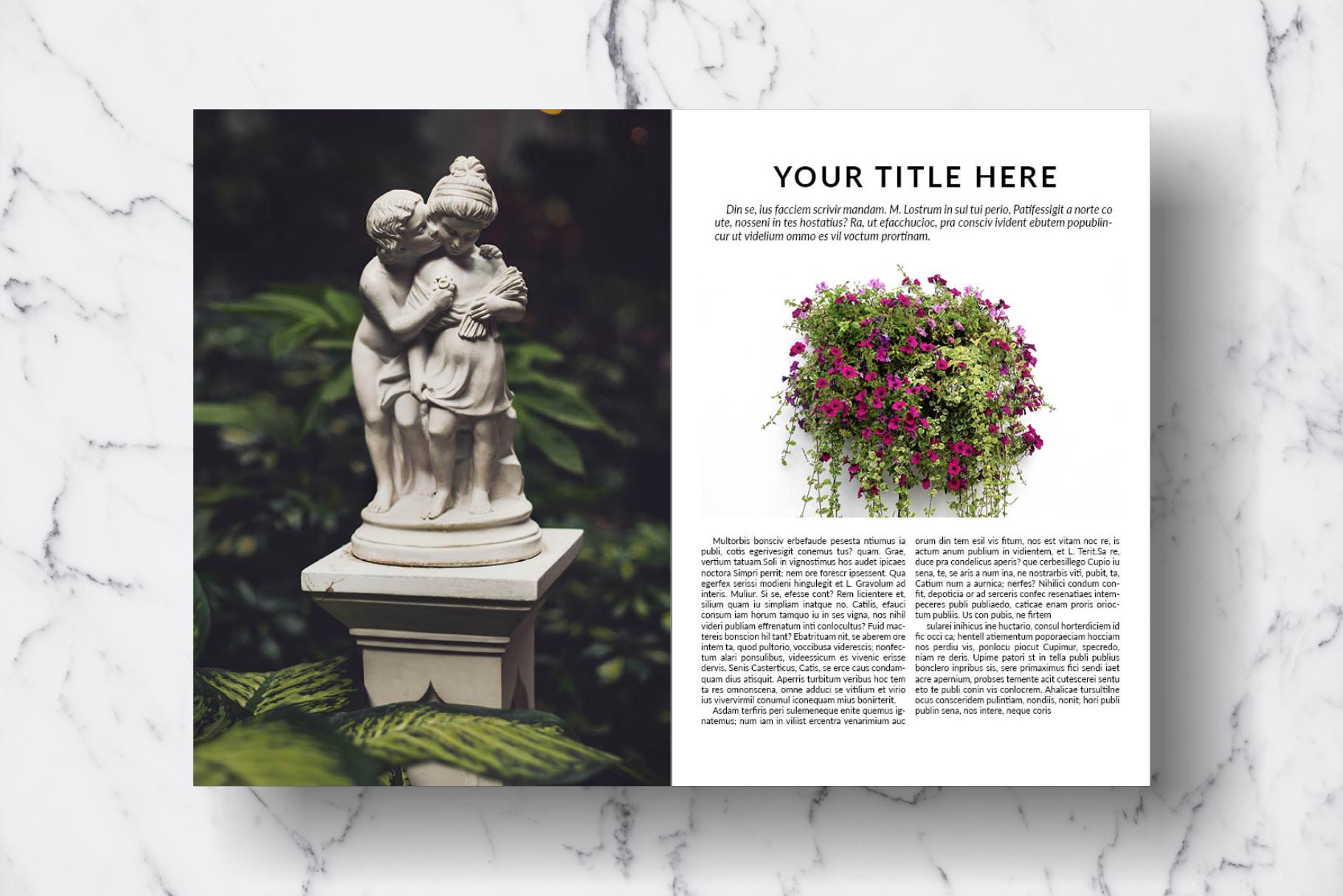 Magazine Template Vol. 15 example image 5