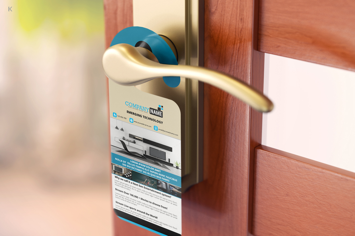Door Hanger example image 3