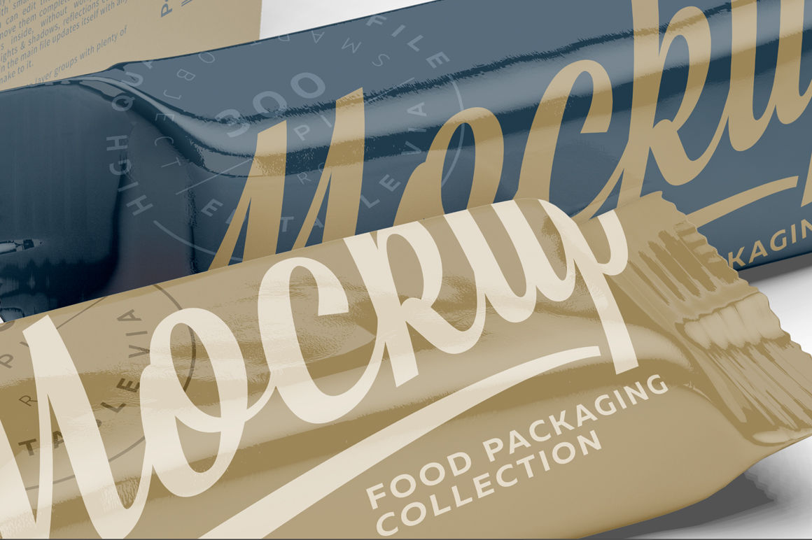 Snack Bars and Display Box Mockup example image 6