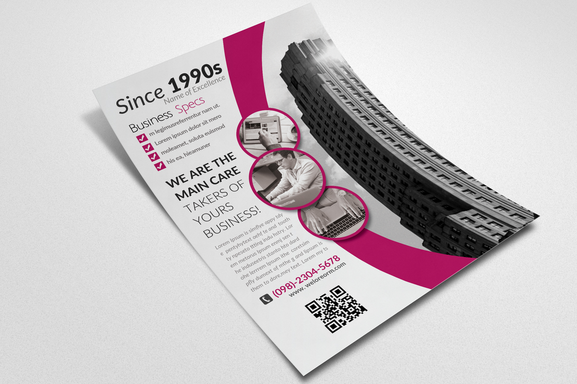 Marketing Consulting Group Flyer example image 2