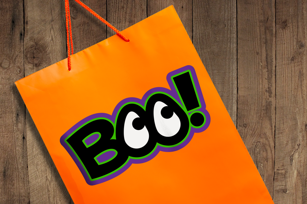 Halloween BOO! Eyes SVG File Cutting Template example image 3