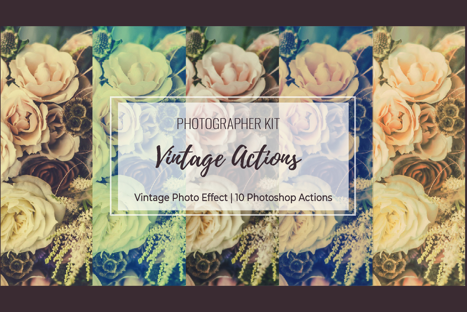 Vintage Photo Effect - 10 PS Actions Kit example image 23