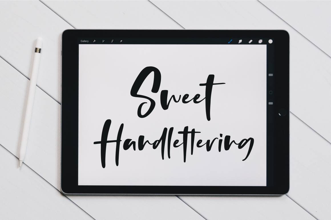 Thursday - Handwritten Font example image 2