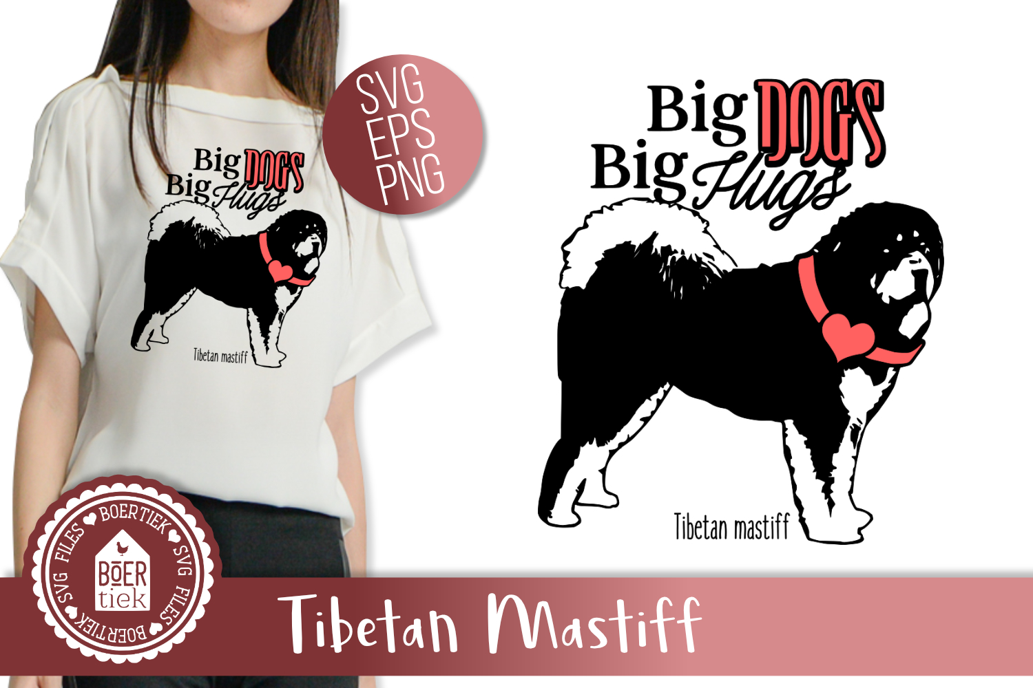 Big dogs, big hugs example image 1