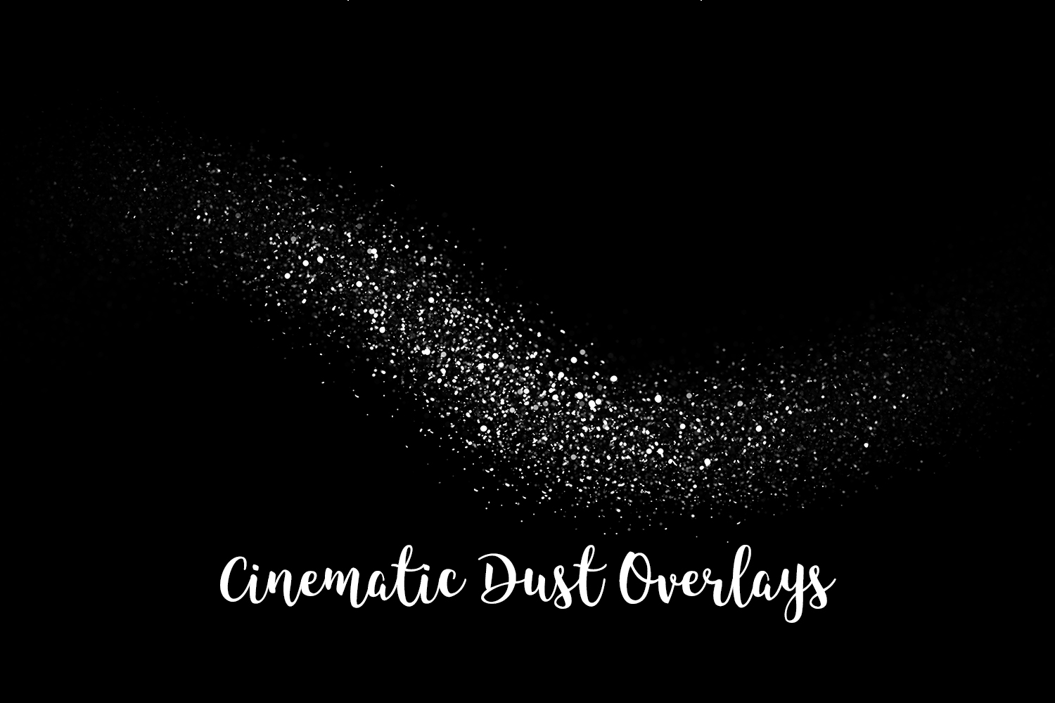 Cinematic Dust Photo Overlays, Bokeh Light Effects example image 5