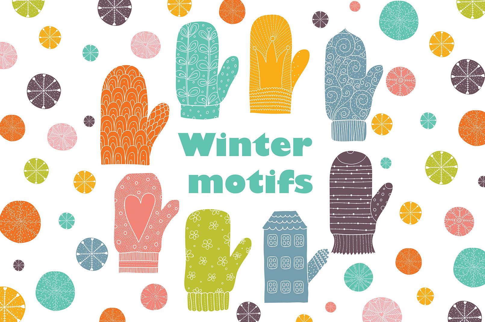 Winter motifs. example image 1