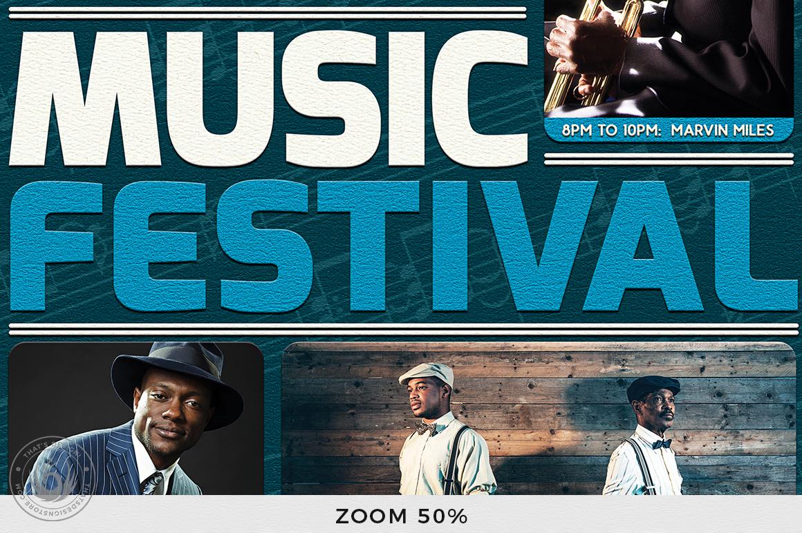 Concert Live Flyer Bundle V5 example image 9