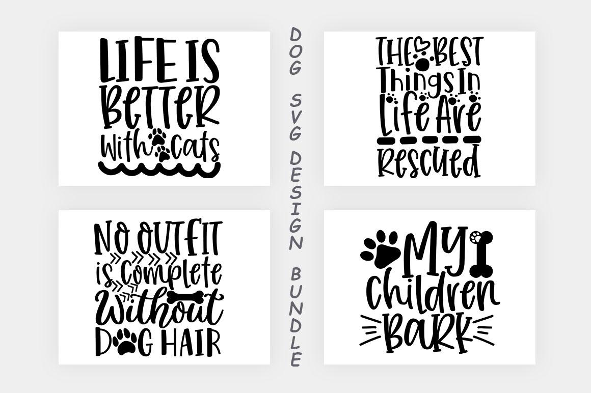 Dog SVG Design Bundle example image 11