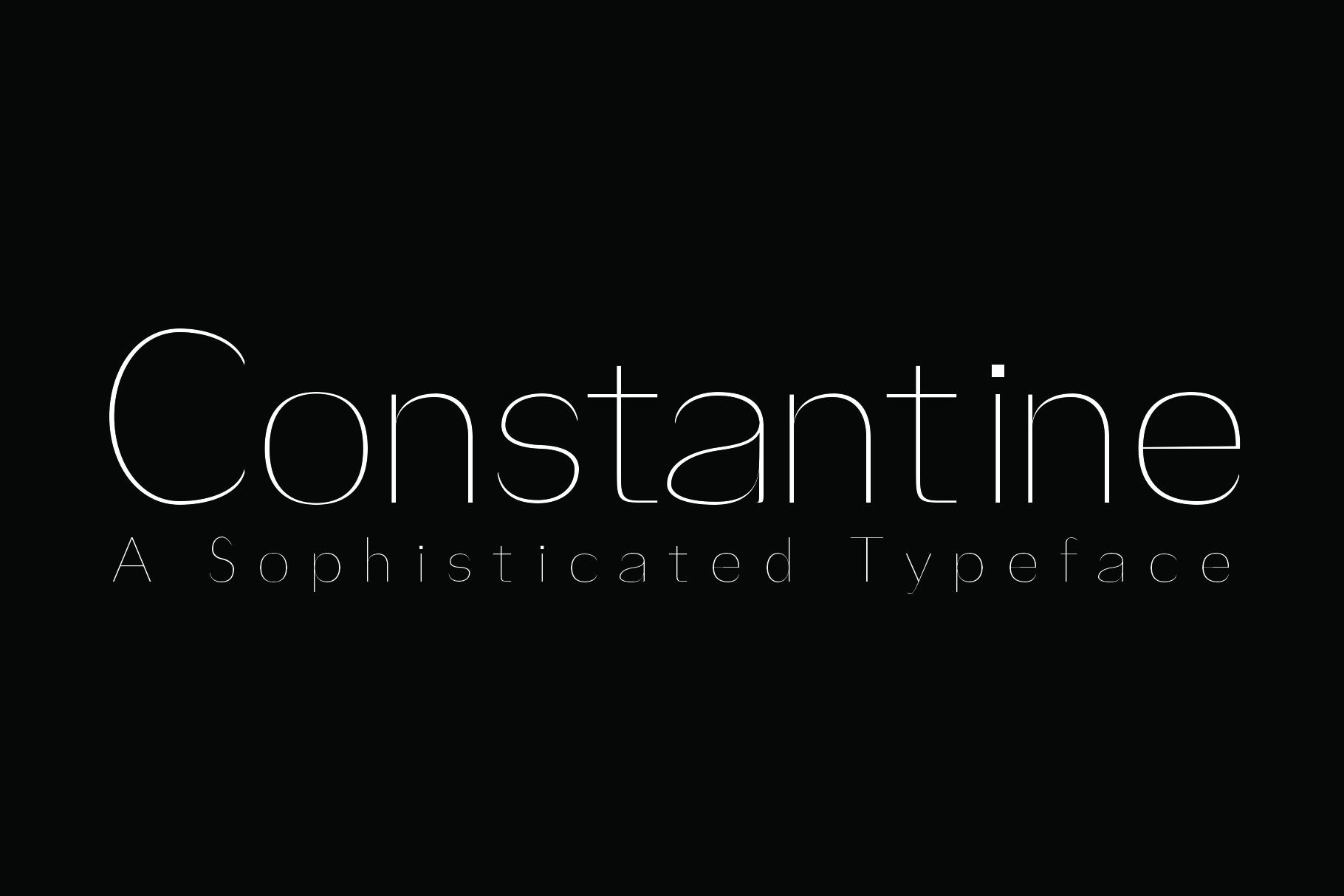 Constantine example image 1