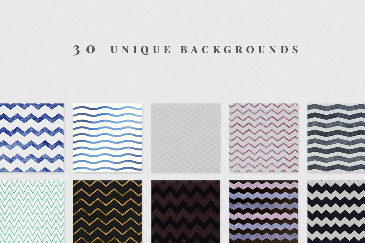Chic Chevron Backgrounds example image 3