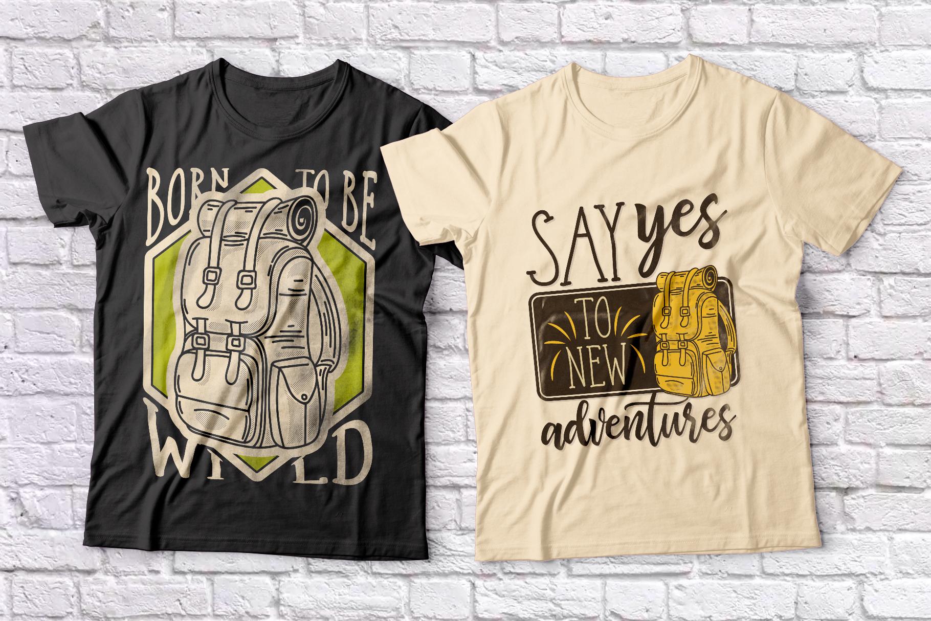 Adventure Typeface plus bonus graphics example image 6