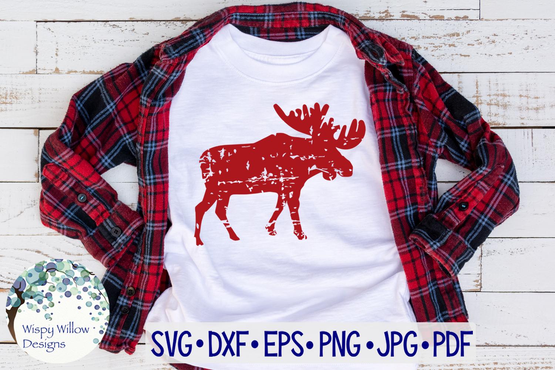 Distressed Grunge Winter SVG Bundle | Christmas SVG Bundle example image 4
