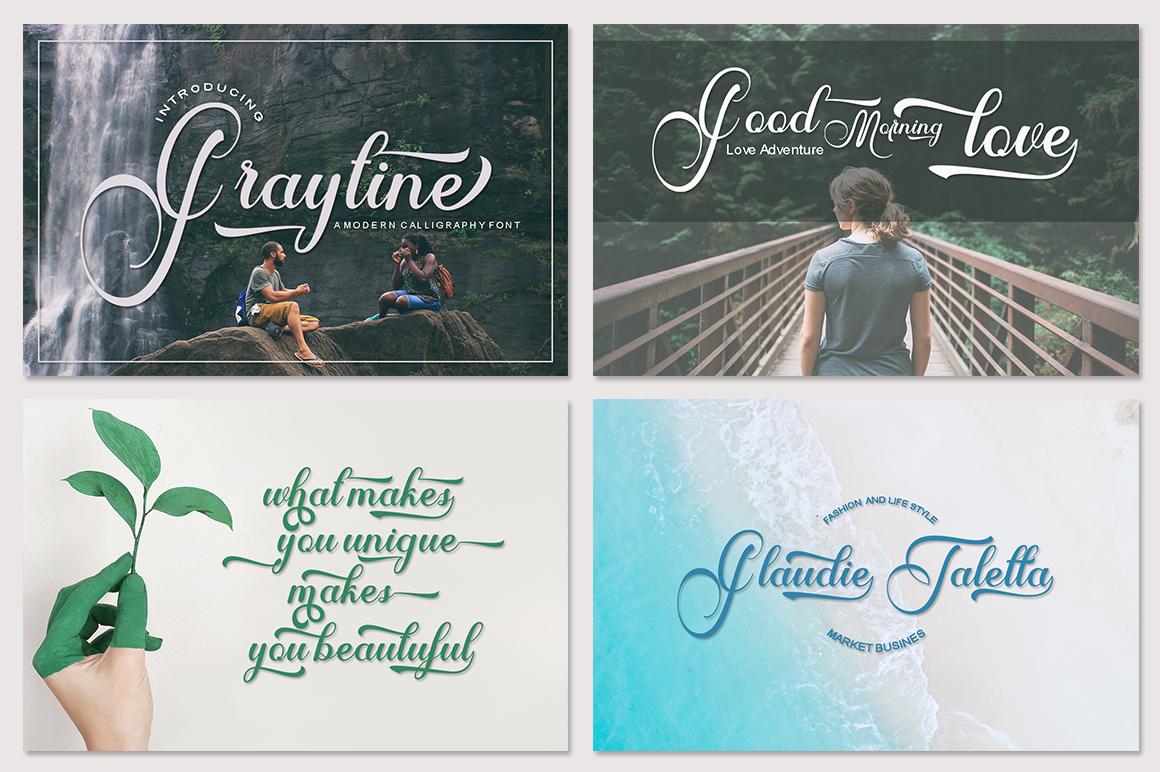 Mini Fantastic Font Bundle 7 Collection Font example image 4