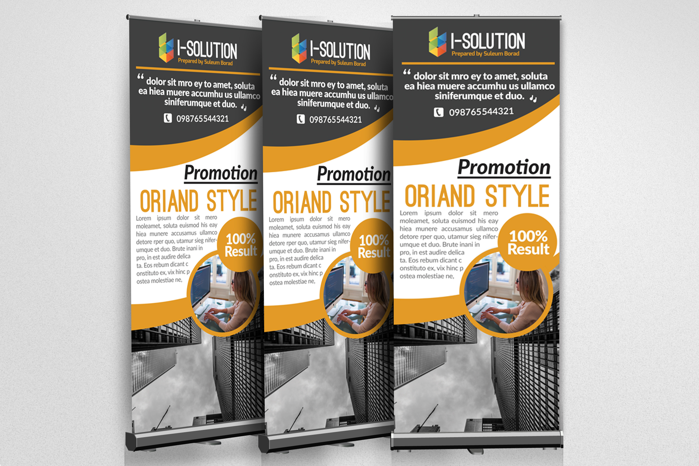 Business Association Roll Up Banners example image 2