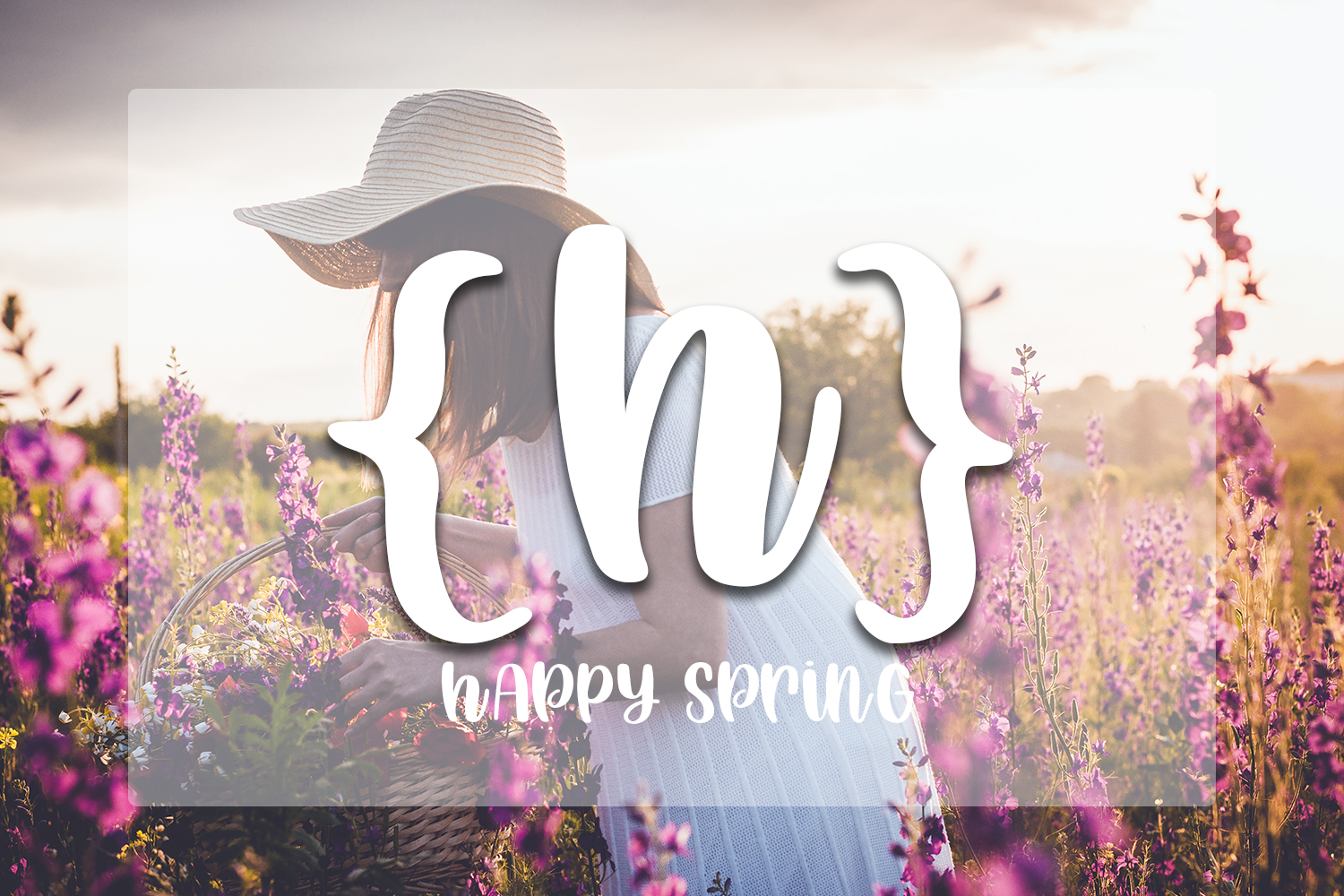 Happy Spring - Hand lettered crafting font example image 6