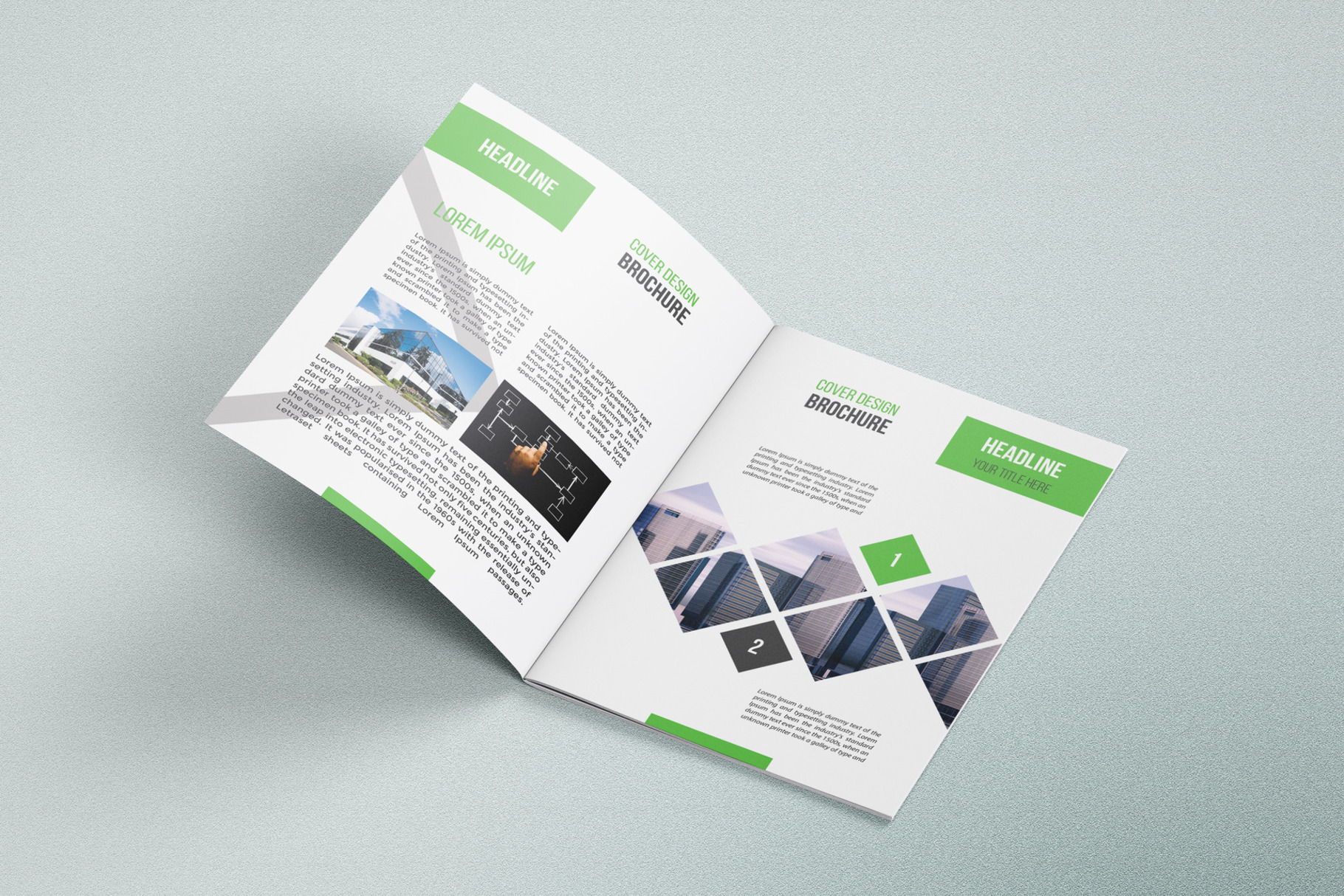Business Brochure Template 05 example image 5