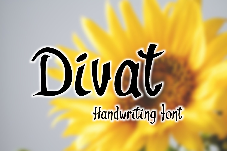 Divat Font example image 1
