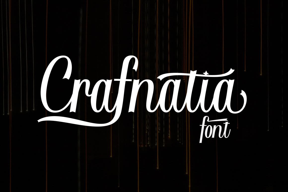 Crafnatia Script example image 6