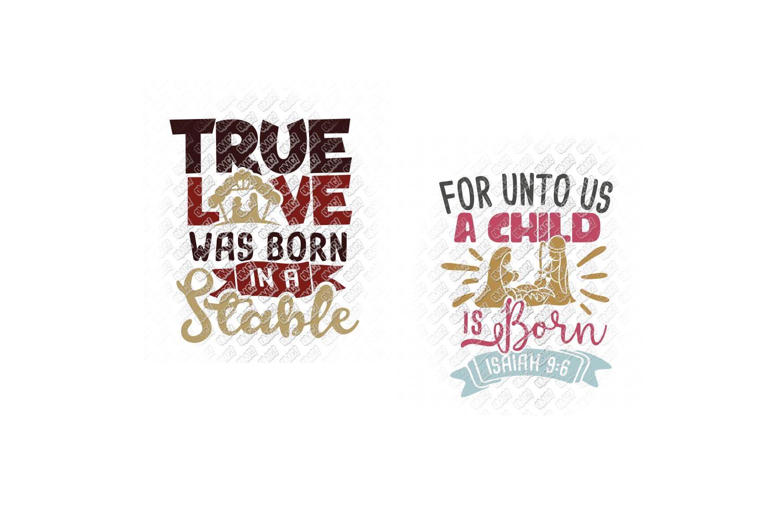 Nativity SVG Christmas Bundle in SVG, DXF, PNG, EPS, JPEG example image 4