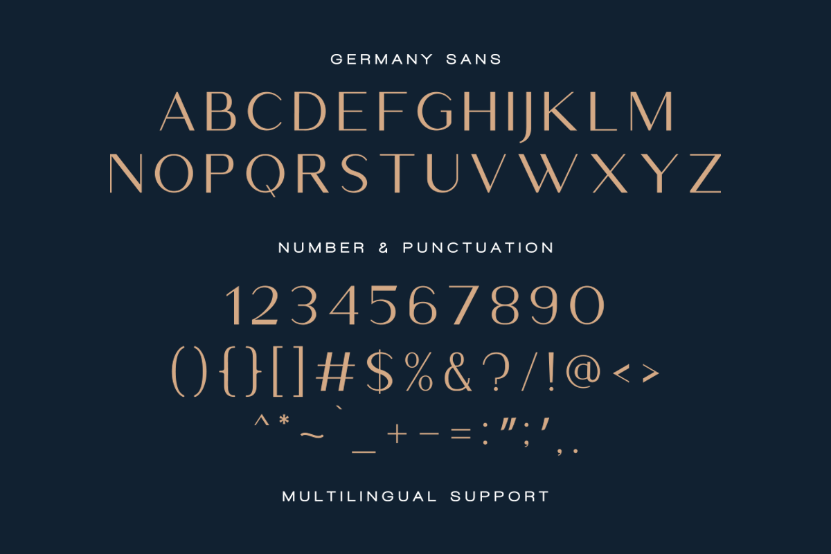 Germany - Luxury Font Duo example image 17