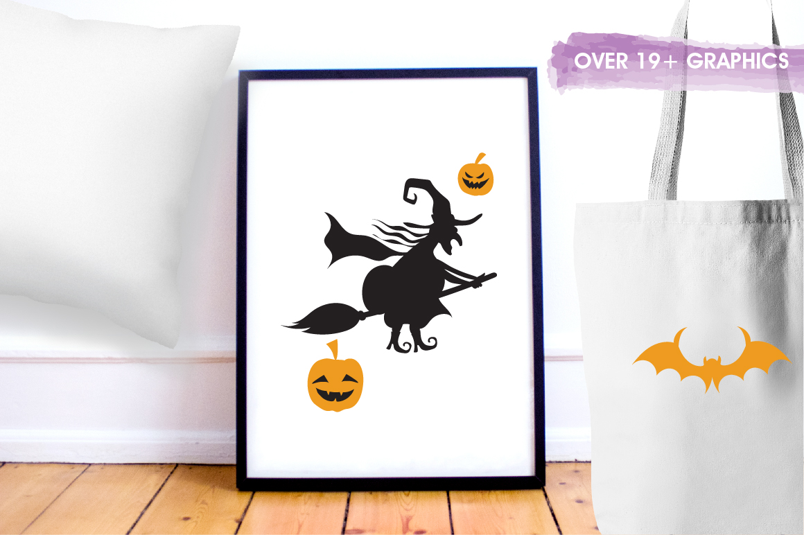 Halloween Fun graphics and illustrations example image 5
