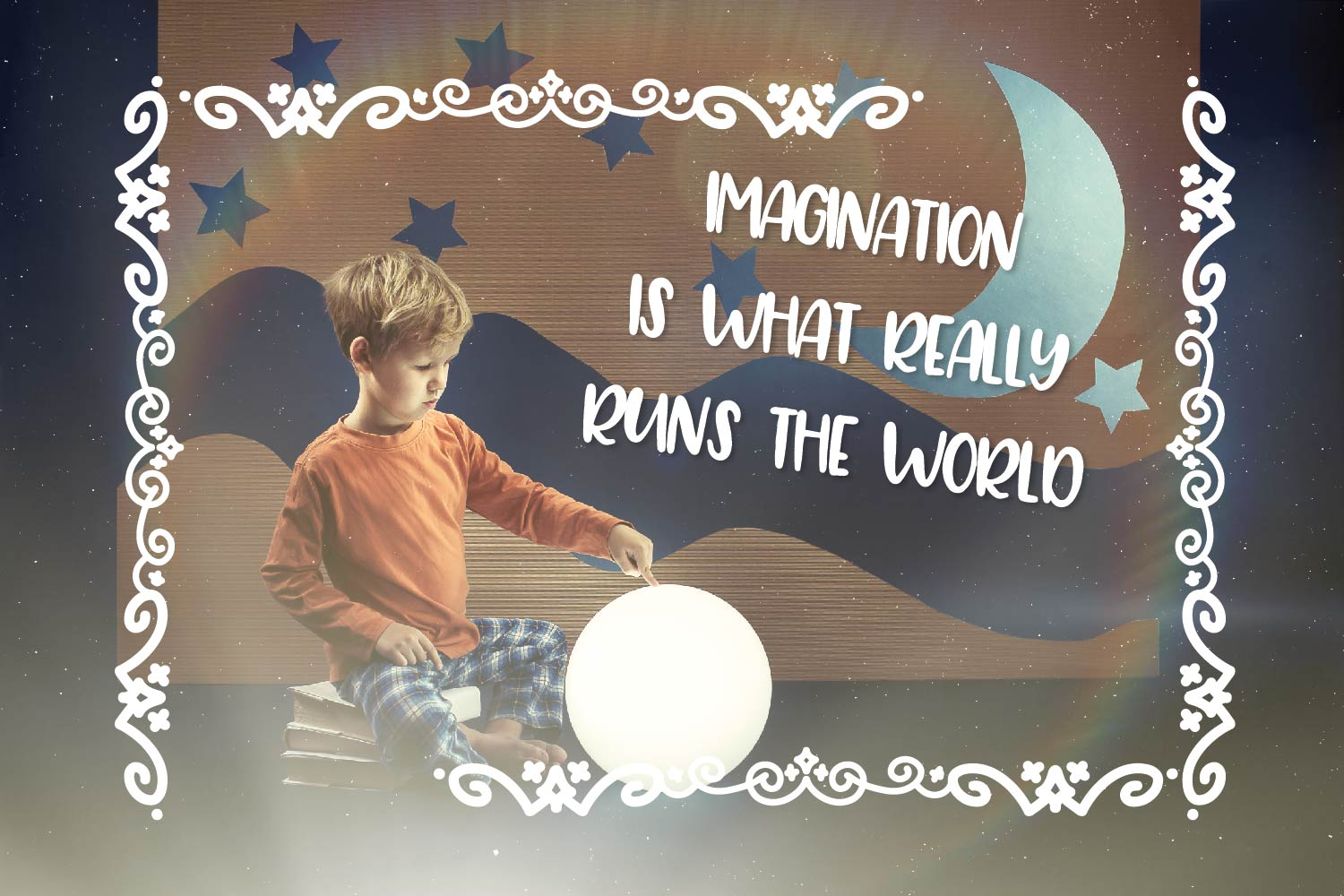 Storybook Banners - A Dingbat Font Full of Magical Borders example image 5