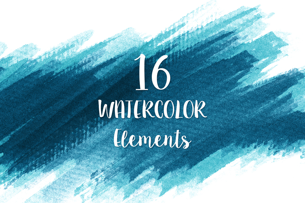Watercolor Texture Bundle + Bonus example image 17