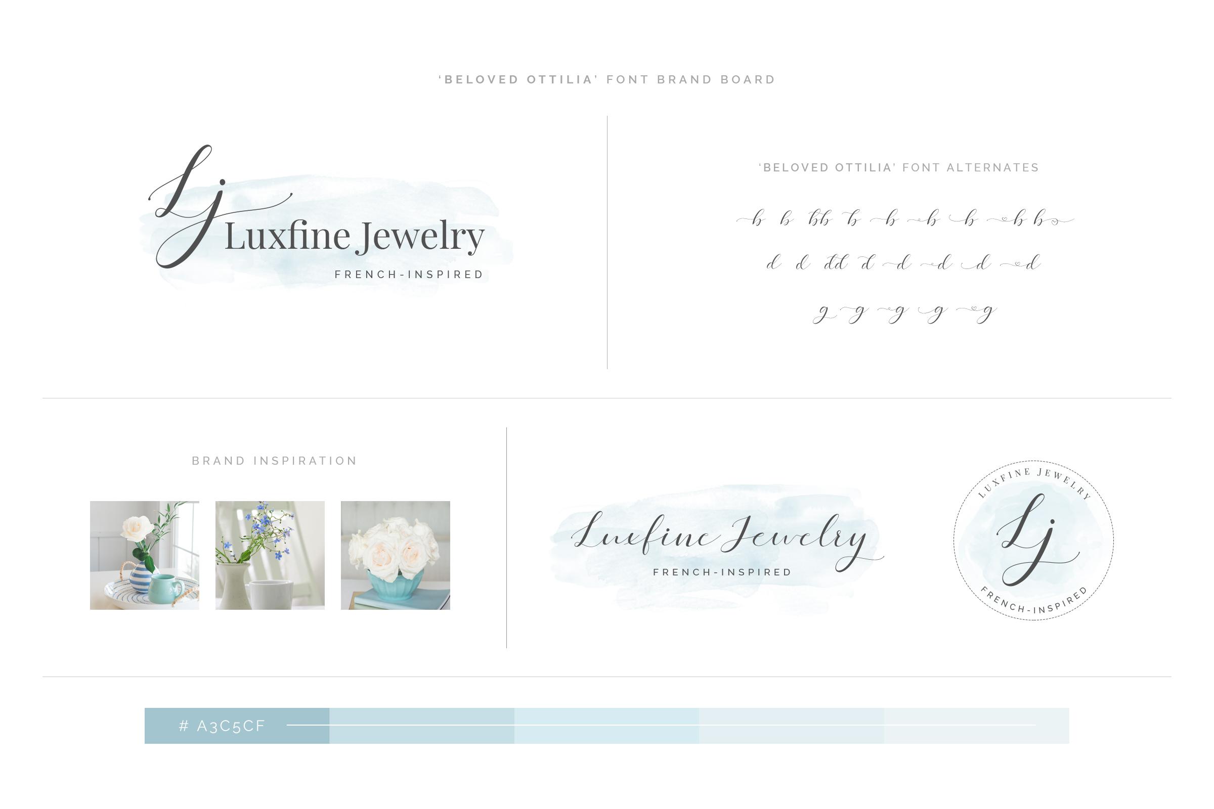 Beloved Ottilia Font 60 Free Logos example image 20