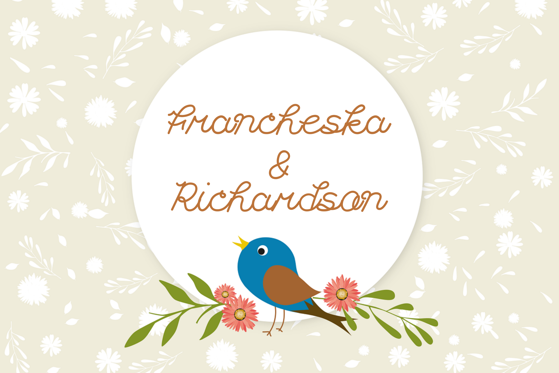 Francheska Font example image 4