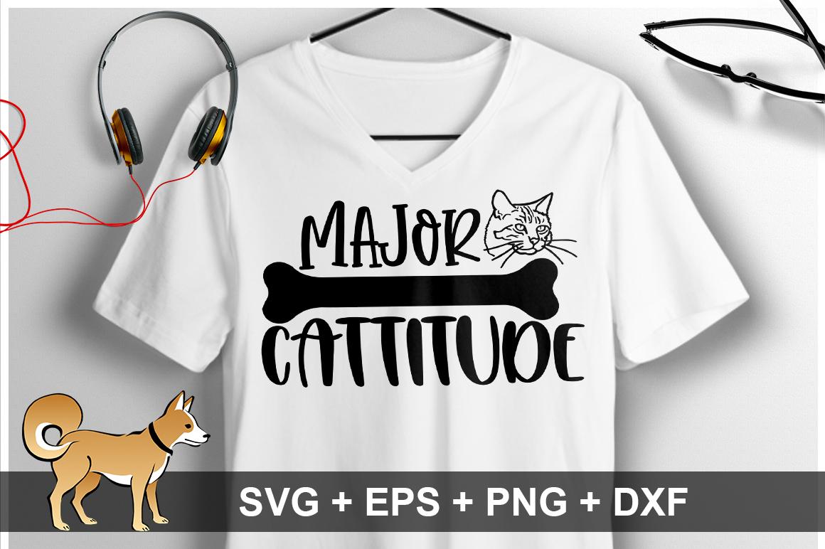 Major Cattitude SVG Design example image 1
