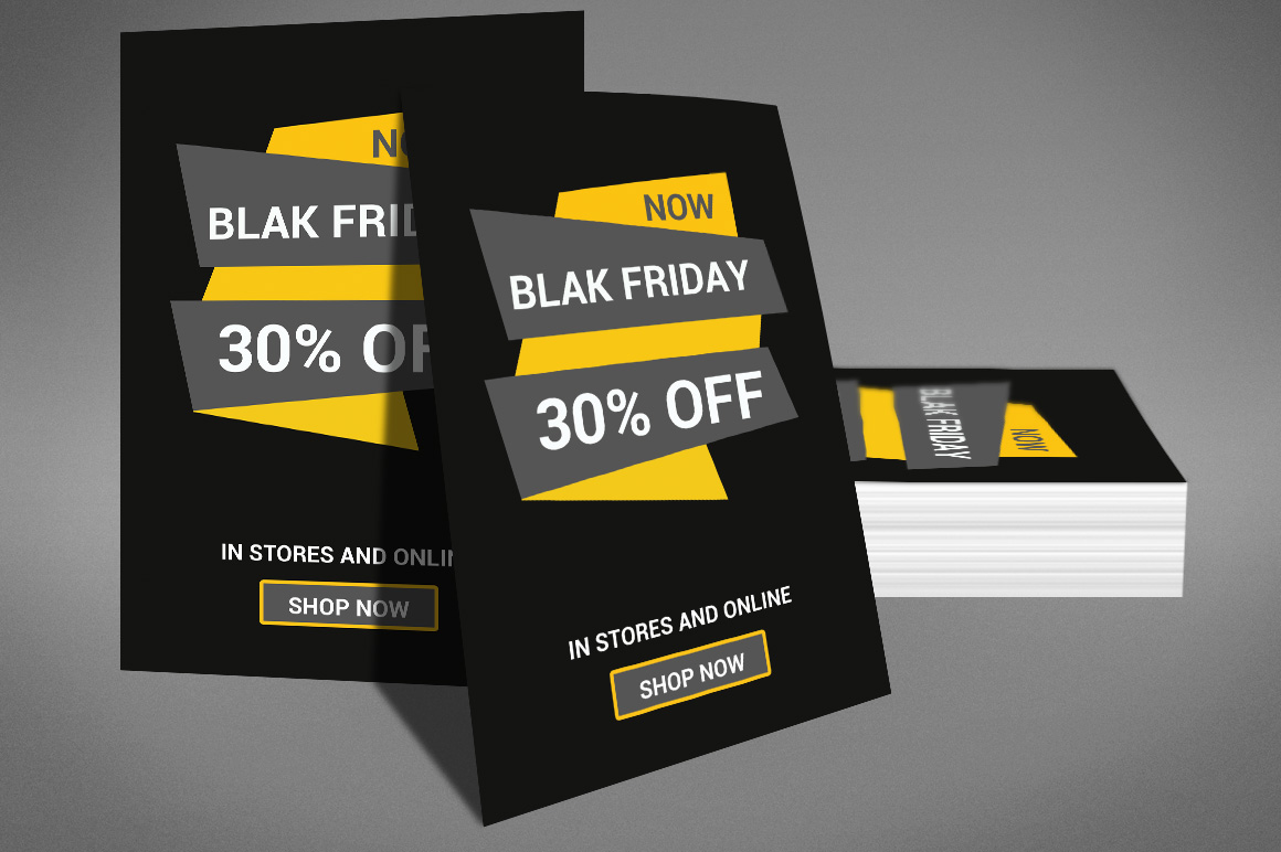 Black Friday Sale Flyer example image 4