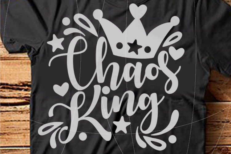 Chaos King SVG PDF EPS example image 1