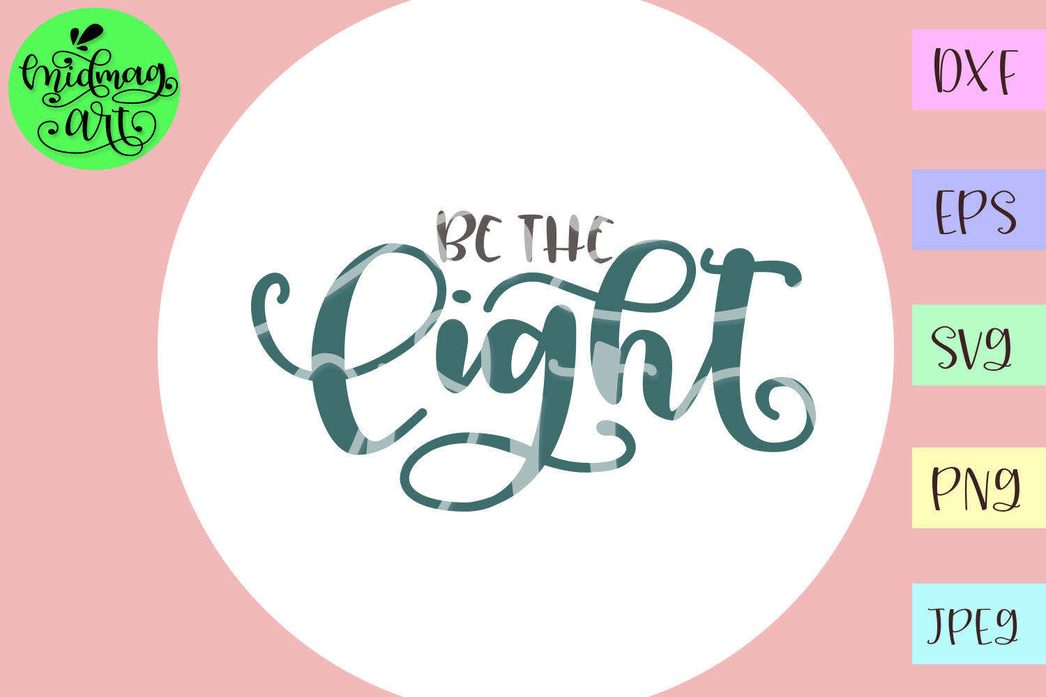 Be the light svg example image 2