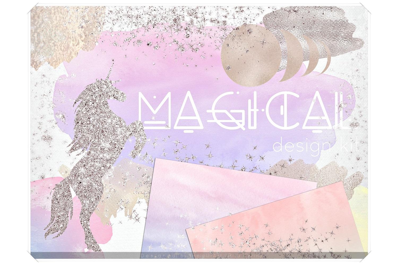Magical - Unicorn Design Bundle example image 1