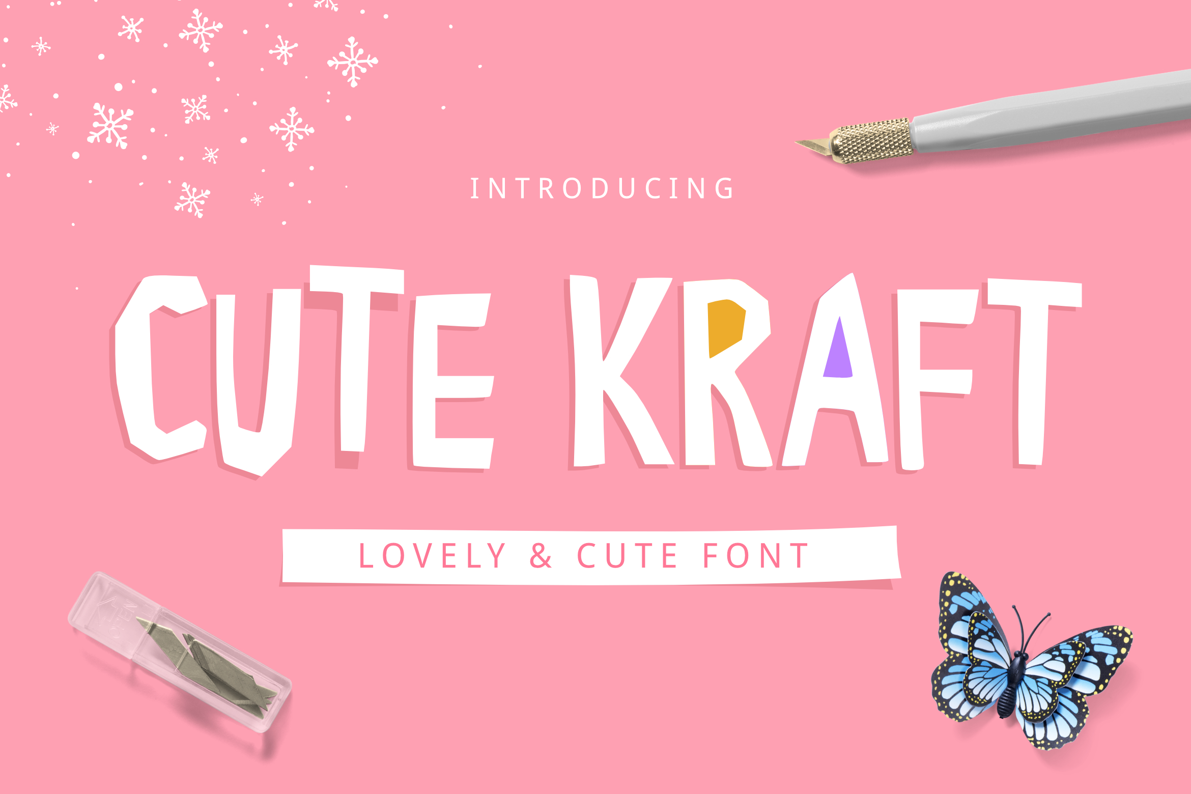 Cute Font Bundle by YandiDesigns example image 10