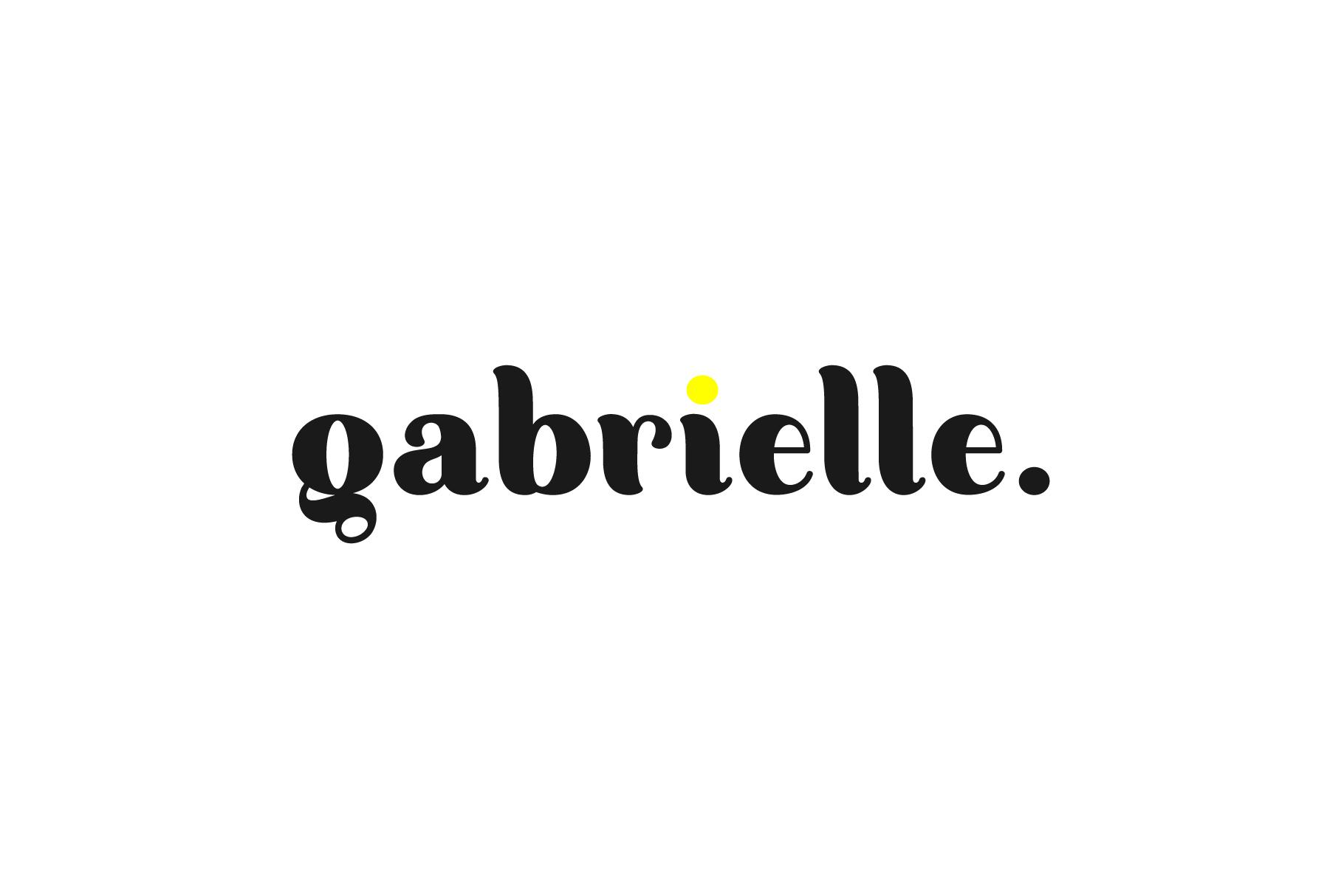 Gabrielle. Sans serif family example image 10