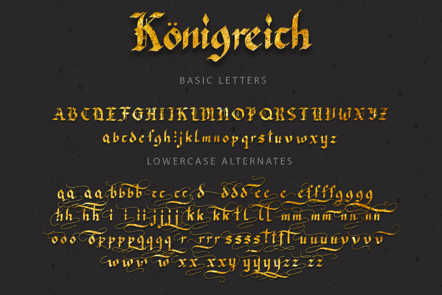 Konigreich Font example image 12