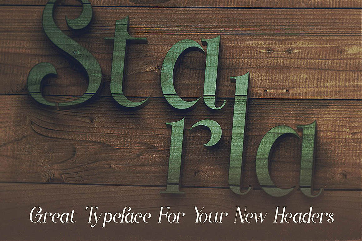 Starla - Display Font example image 4