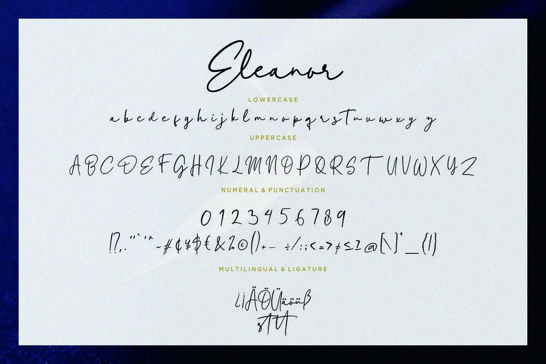 Eleanor Handwritten Script example image 7
