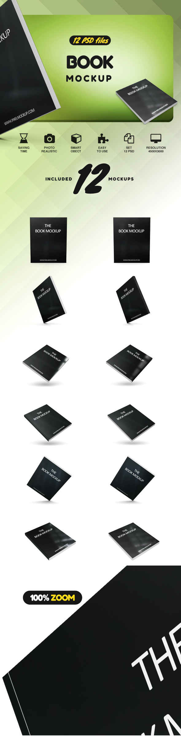 Student Book Mockup example image 2