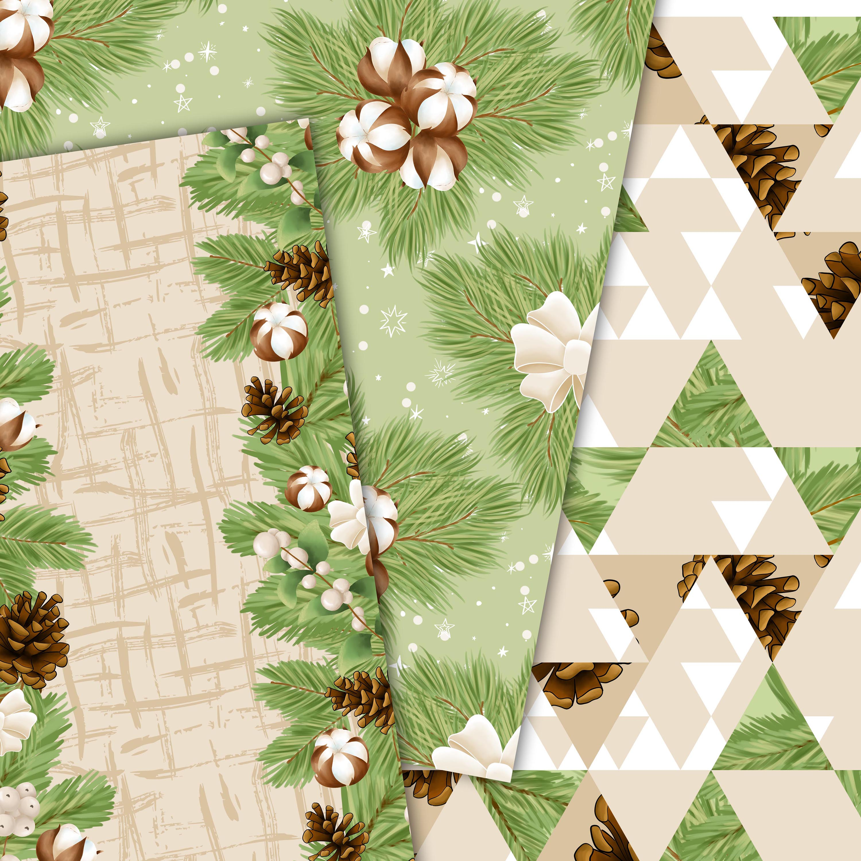 Cotton winter patterns example image 3