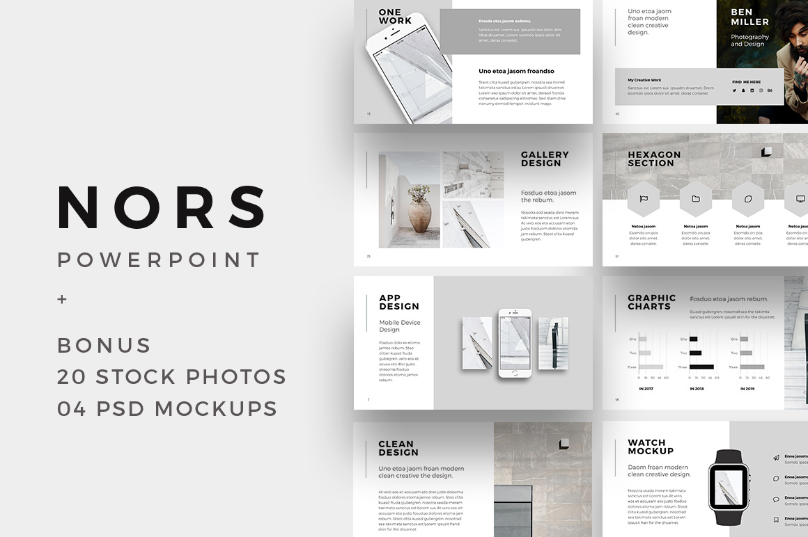 nors powerpoint template   big bonus
