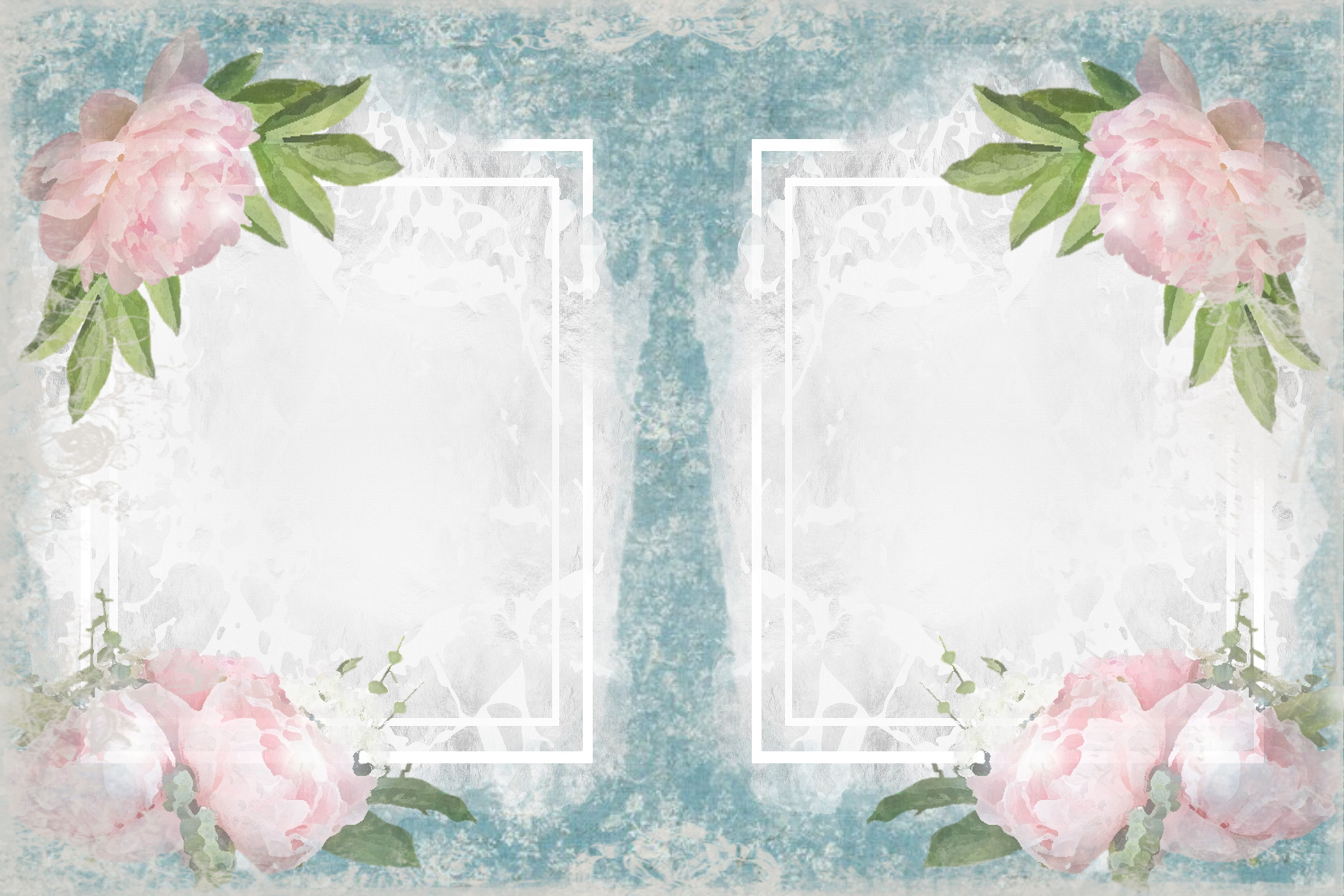 Shabby Chic Vintage backgrounds, Ephemera and Clipart Pmgs example image 6