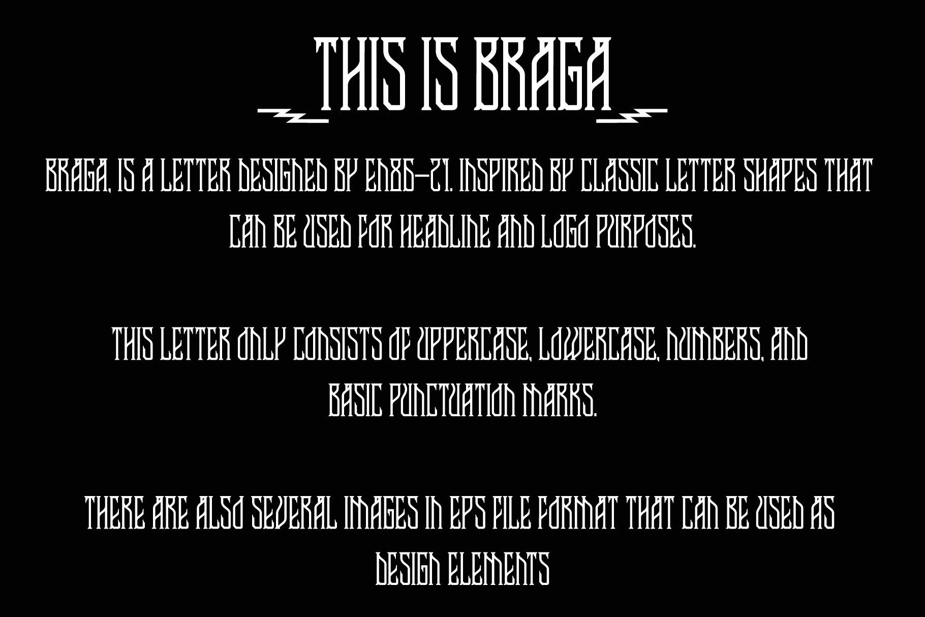 Braga & extras example image 2