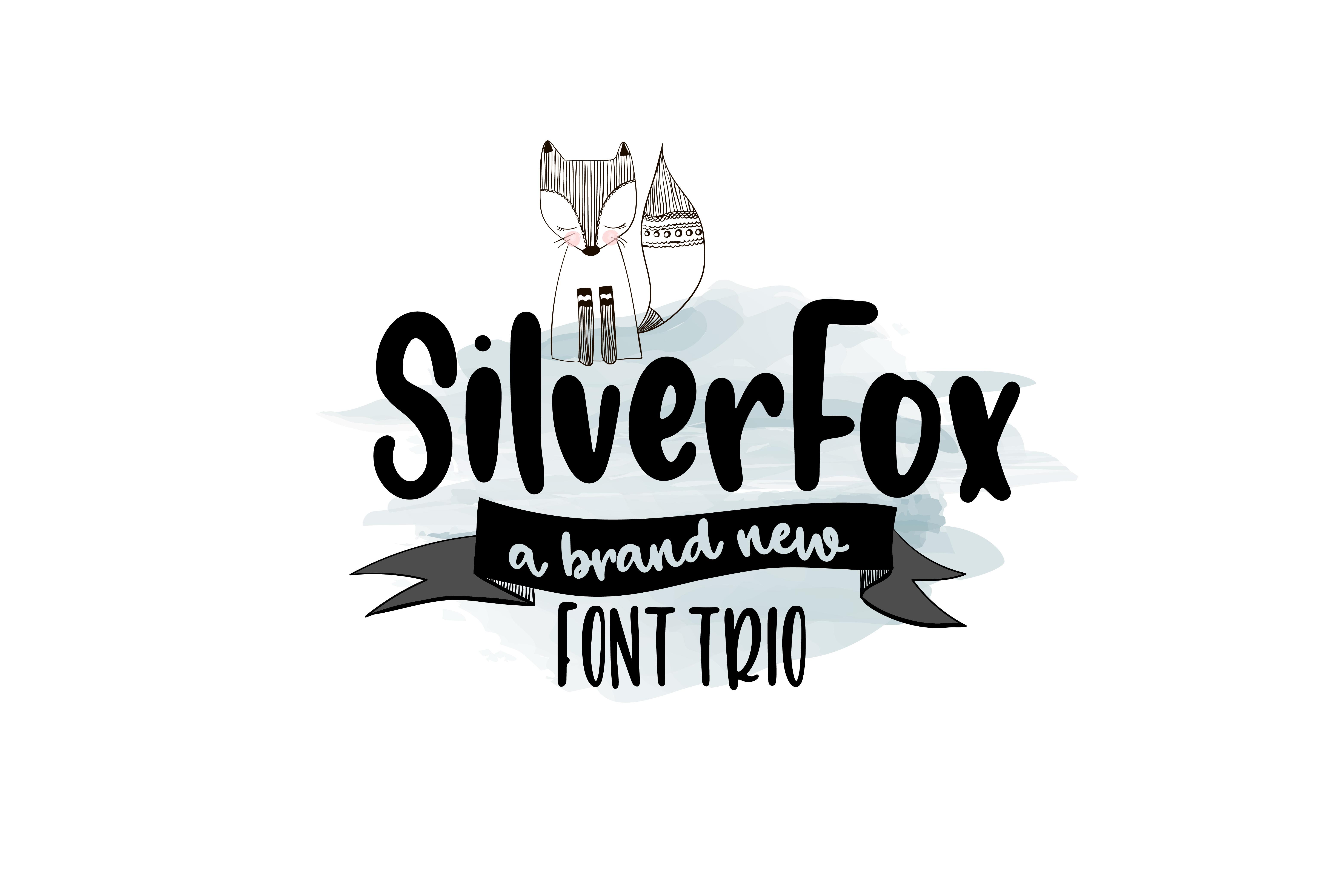SilverFox Font TRIO example image 1