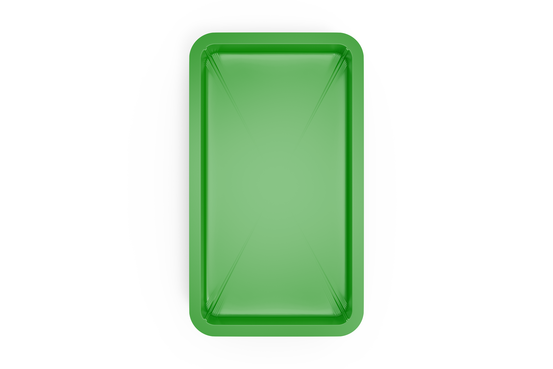 Plastic Tray With Asparagus Mockup example image 6