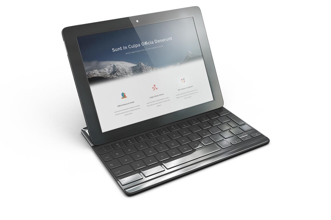 Google Pixel C Tablet Mockup example image 8