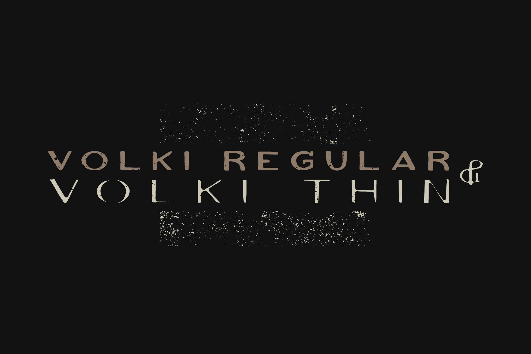 VOLKI - Handwritten Vintage Typeface example image 5