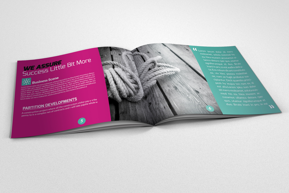 20 Pages Multi Use Minimal Square Brochure example image 10